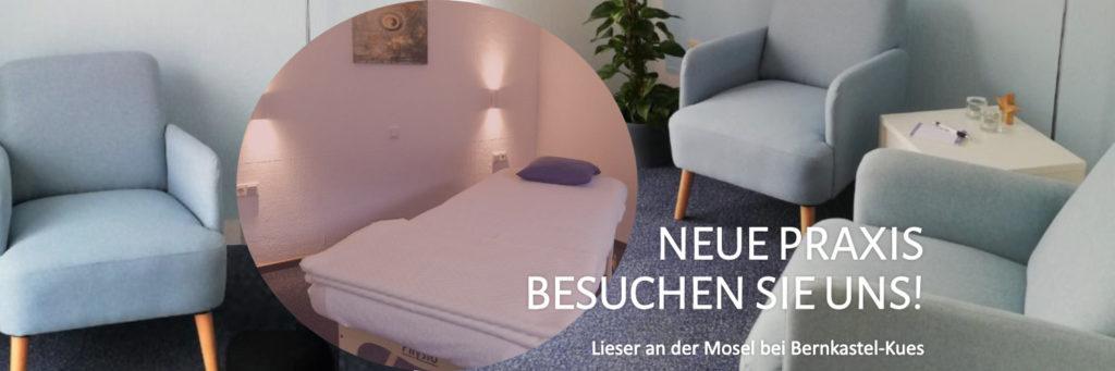 Neue Praxis in Bernkastel-Kues / Lieser an der Mosel